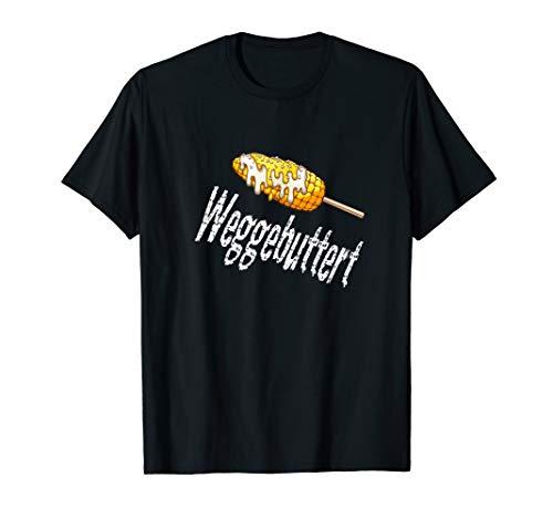 Weggebuttert - Maiskolben Butter Fun Flirt Geschenk Shirt