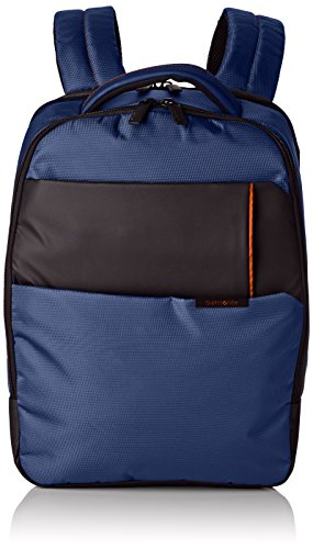 "Samsonite Qibyte Laptop Backpack 14.1"" Mochila Tipo Casual, 14.5 Litros, Color Azul"