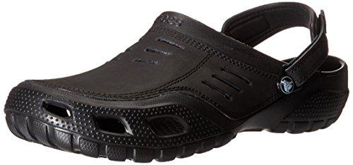 crocs Yukon Sport, Herren Clogs, Schwarz (Black/Black 060), 43/44 EU (9 Herren UK)