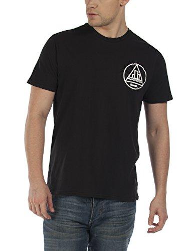 Bench Caducity-T-shirt  Uomo Schwarz (Jet Black BK014)