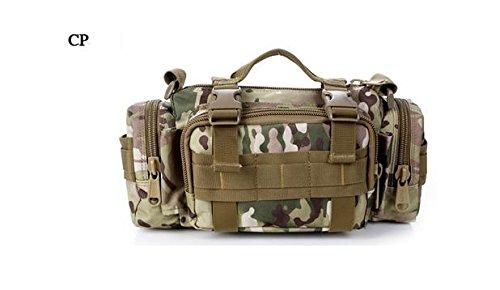 Zll/Armee Fan Outdoor Tasche Tactical Brust Pack 3P Magic Taille Bag Messenger Bag Mann Tasche mit Riding Big Taschen CP