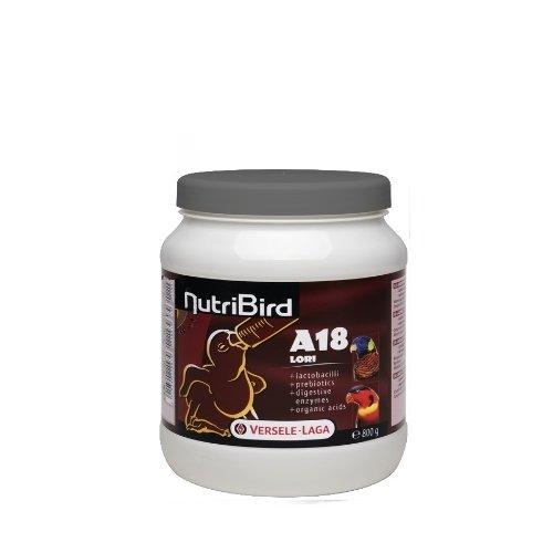 Versele-Laga Nutribird A18 Loris 800 gr-aliment complet pour l'élevage à la main de Loris loriquets