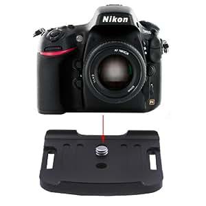 """Neewer 1/4"""" Plateau Rapide pour Nikon D800 D800e Pince de Style Arca-Swiss"""