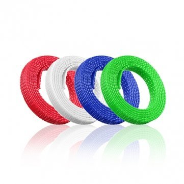 high-quality-1m-8mm-braided-expandable-wire-gland-sleeving-high-density-sheathing-green