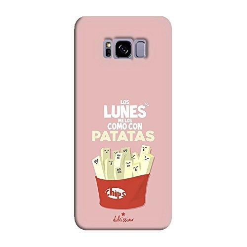 """Dulcissimo Funda """"Los Lunes Me Los como con Patatas"""" para Samsung Note 8"""