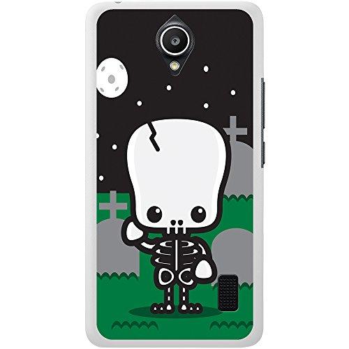 Vollmond Hartschalenhülle Telefonhülle zum Aufstecken für Huawei Y635 (Skelett Valentines)
