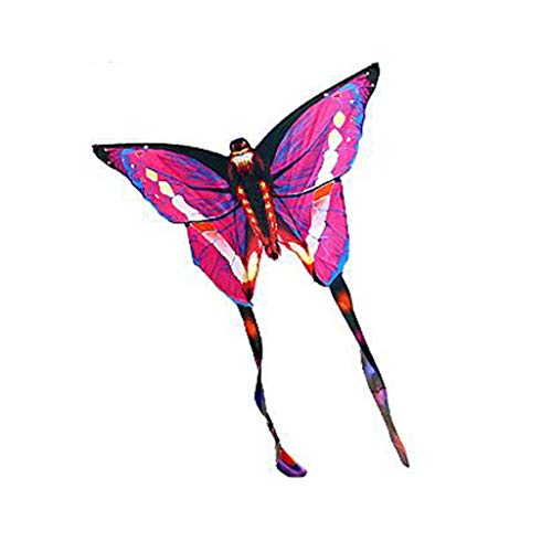 TD Drachen B6787 Schmetterling Kind Karikatur Erwachsener Brise Yi Fei Gute Fliege Familie Unterhaltung (Farbe : Rosa) -