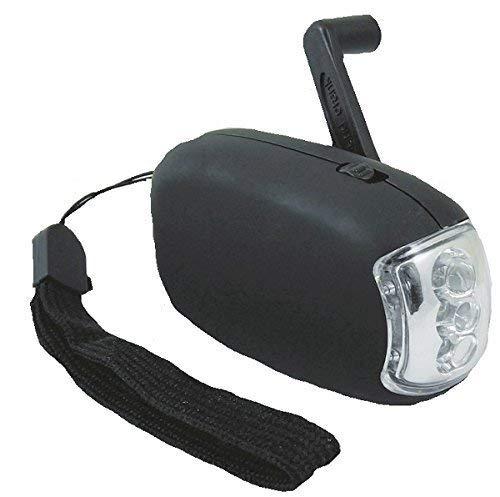 Jegs 3 LED Mini Aufziehen Taschenlampe keine Batterien Erforderlich