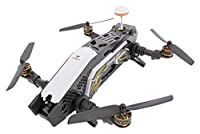 XciteRC 15003860– FPV Furious 320 F3RTF Racing Quadcopter Drone with HD Camera, OSD, Battery, Charger and Devo 10Remote Control–Black from XciteRC