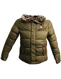 Tisey® F-1 Herren Winter-Jacke gefüttert Jacke Mantel Daunenjacke sky jacke winterjacke herren winter jacke