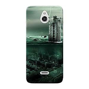 Mobile Back Cover For InFocusM2 (Printed Designer Case)