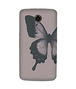 Butterfly Paint Motorola Nexus 6 Case