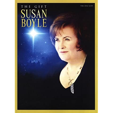 Susan Boyle: The Gift. Partituras para Piano, Voz y Guitarra