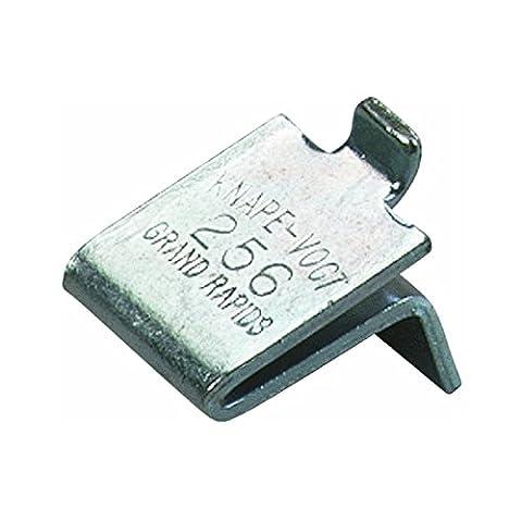 KNAPE & VOGT MFG CO - 12-Pack Zinc Shelf Support Clips