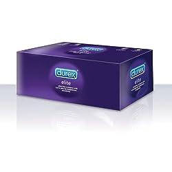 Paquete de 48 Condones Durex Elite Ultra Delgados con Lubricación Adicional 4 Sexo seguro, condones y contenido erótico | Más de condones
