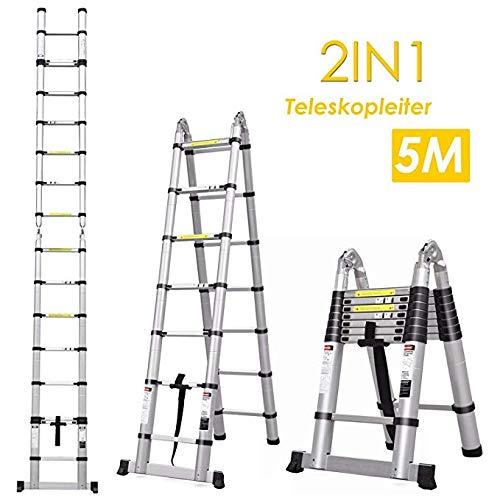 Fixkit Echelle Télescopique Escabeau Telescopique...