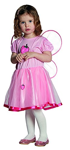Erdbeerfee Gr. 92 Fasching Karneval Kostüm Drache Kinderkostüm Mottoparty (Rosa Drachen Kostüm)