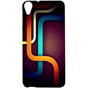 Casotec Pattern Design Hard Back Case Cover for HTC Desire 820