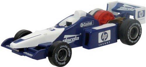 Formel 1 Rennwagen, blau DARDA, 1Stück