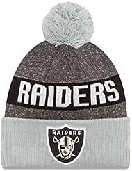 Oakland Raiders sur champ Envers 2016Sport en tricot Sideline Bonnet Casquette NFL New Era