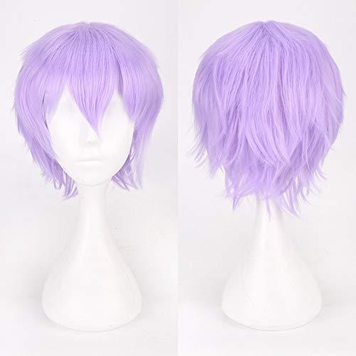 Rifuli®Anime Cosplay Perücke Ausrüstung Multi Color Short Glattes Haar Perücke Anime Party Cosplay Volle Verkauf Perücken 35cm Styling Perücken wig ()