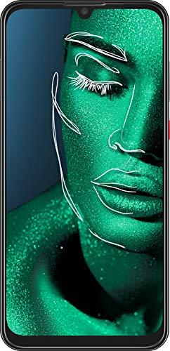 ZTE Smartphone Blade V10 (16 cm (6,3 Zoll) FHD+ Display, 64 GB interner Speicher, 32 MP AI-Selfie- und 16+5 MP Dual-Hauptkamera, Dual-SIM, Android 9) Schwarz