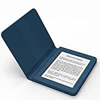 BOOKEEN Saga Blue - Ereader E-Ink FrontLight 8GB with embedded silicone smartcover