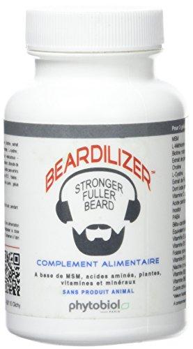 Beardilizer  - 1er Accélérateur de Pousse de Barbe - 90 Capsules