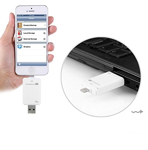 i-Flash Drive USB Flash Drive for Apple iPhone 6 5s iPad Air iPad Mini (32GB)