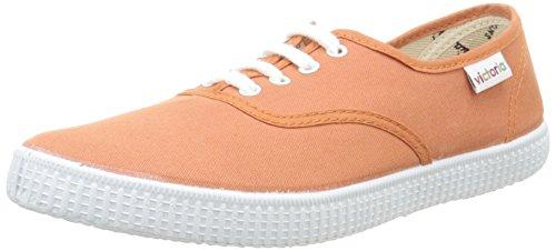 Victoria Inglesa Lona, Baskets Basses mixte adulte Orange (140 Melocoton)