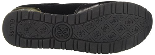 Guess Damen Roman Sneakers Schwarz (Nero)
