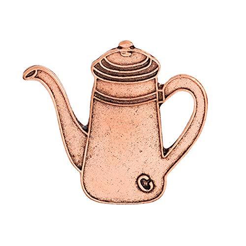 Shoppy Star Vintage Coffee Cup Series Brosche Hand stumpf Filter Becher Set Kaffee Gerät Brosche Metall Abzeichen für Kleidung 788 (Generic Kaffee-filter)