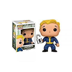 Funko Pop Locksmith (Fallout 4 – 118) Funko Pop Fallout