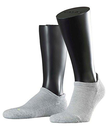 3 Paar Falke Socken 16609 Cool Kick SN Sportlicher Sneaker UNISEX , Farbe:Light grey 3400;Socken & Strümpfe:44-45 Coole Sneaker