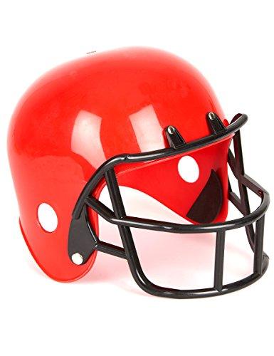 Generique American Football Helm in Rot für Kinder