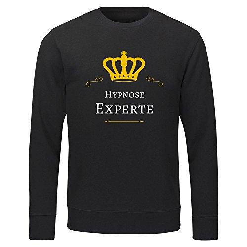 Sweatshirt Hypnose Experte schwarz Herren Gr. S bis 2XL, Größe:XXL