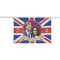 Royal Wedding Party Bunting Harry & Meghan Banner Flag Decoration Accessory 2018