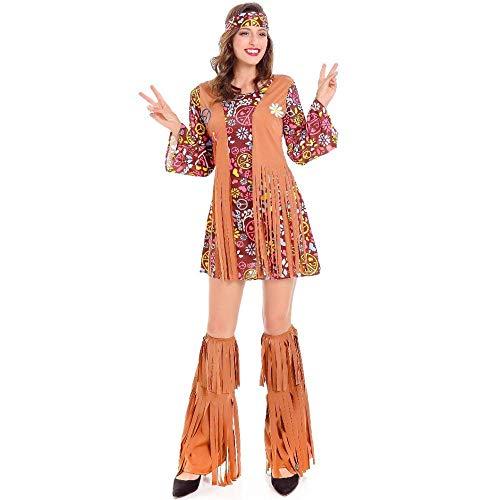 Der Braut Indischen Kostüm - Moscg Halloween Bekleidung Frauen Indischen Eingeborenen Aborigines Kleidung Retro Hip Hop Kleid Bühne Kleid, Farbe, Code