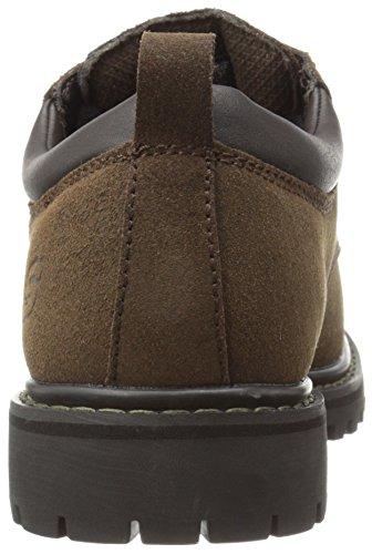 Skechers USA vicolo Gatto di scarpe Marrone