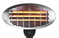LIVIVO ® Electric 2kW Patio Heater with 3 Power Settings