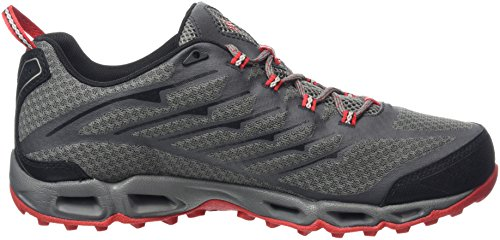 Columbia Ventrailia Ii Outdry, Chaussures Multisport Outdoor Homme Gris (City Grey/Bright Red 023)