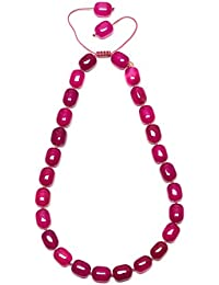 Lola Rose Women Red Coral Agate Strand Bracelet of Length 18cm 692632 cL57Q