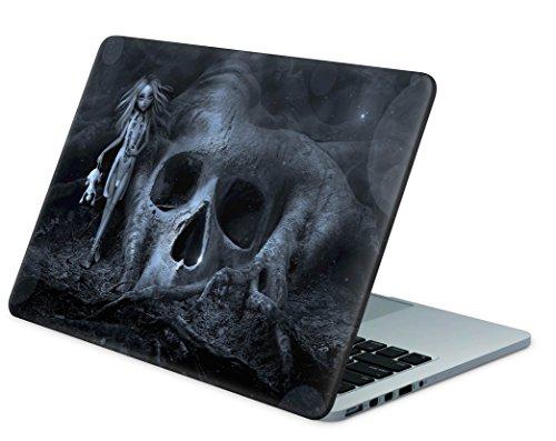 """Skins4u Laptop Aufkleber Universal Skin Netbook Sticker für bis zu 15,6"""" Displays in 38,1x26,7cm - Skull Tree"""