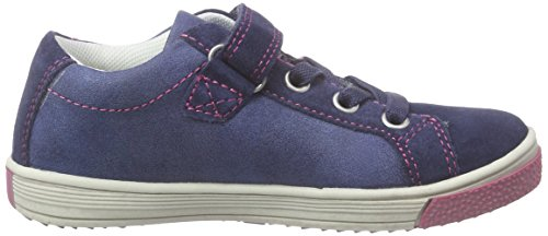 indigo by Clarks 432 114, Baskets Basses fille Bleu - Blau (Navy 839)