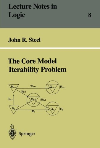 The Core Model Iterability Problem (Lecture Notes in Logic)