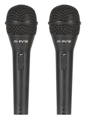 Peavey Pvi 2 - 2-Pack Dynamic Cardiod Microphones