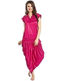 AV2 Women's Satin Night Dress