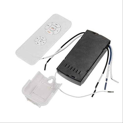 Universal Ceiling Fan Lamp Remote Control Kit 110-240V Timing Wireless Control Switch Adjusted Wind Speed Transmitter Receiver - Fan Control Kit