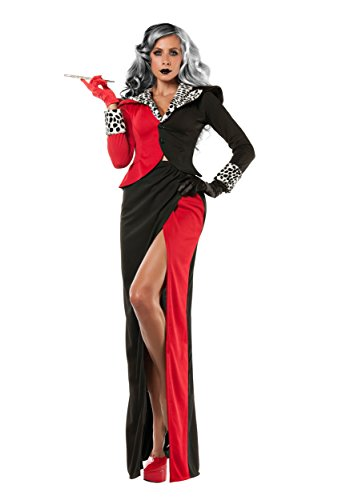 Women's Cruella DeVil Fancy dress costume Large