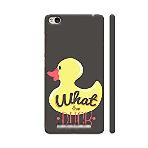 Colorpur Redmi 4A Cover - What The Duck Printed Back Case